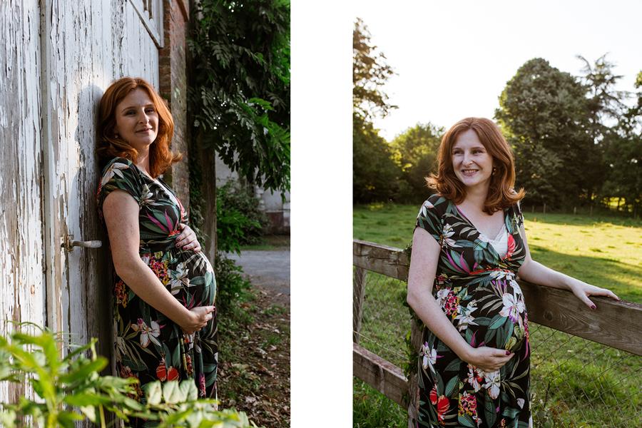 Séance photo femme enceinte nantes savenay saint nazaire